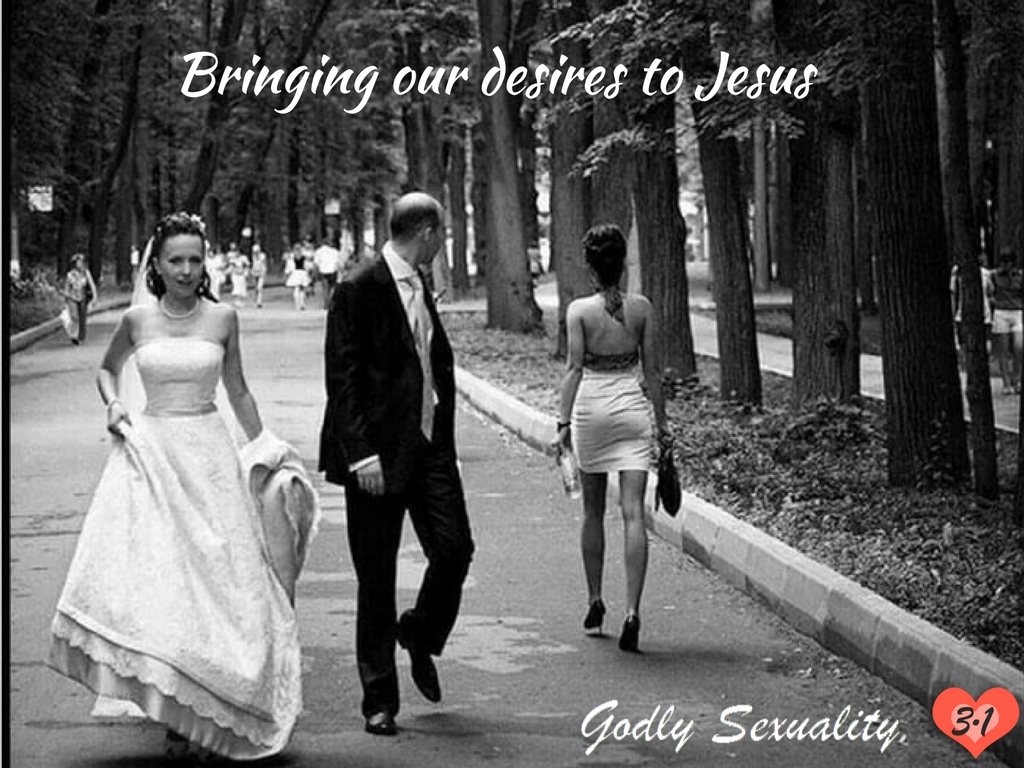 How to stop looking at a woman lustfully (godly desire)